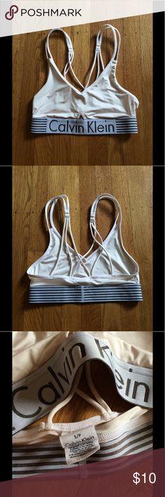 Calvin Klein Bra Worn once. Calvin Klein Underwear Intimates & Sleepwear Bras