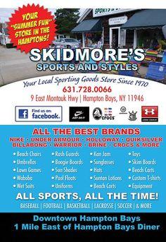 Skidmore's Sports & Styles in Hampton Bays, NY