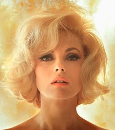 Virna Lisi, photograph by Douglas Kirkland, 1966...I always thought she was SOOOO gorgeous!