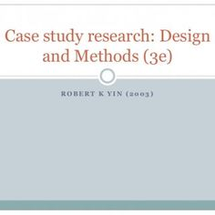 Case study method in research