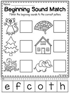 Kindergarten Phonics Worksheet Beginning sounds Mega Phonics Worksheet Bundle Pre K Kindergarten Homeschool Kindergarten, Kindergarten Reading, Preschool Learning, Kindergarten Worksheets, Preschool Activities, Pre K Worksheets, Homeschooling, Printable Worksheets, Free Phonics Worksheets