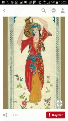 Art And Illustration, Iranian Art, Turkish Art, Arabian Nights, Painting Patterns, Portrait Art, Chinese Art, Islamic Art, Japanese Art