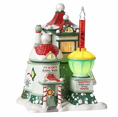 Department 56 North Pole Series Pip  Pops Bubble Works Lighted Building 4025280 *** This is an Amazon Affiliate link. Learn more by visiting the image link.