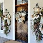 How to make a wreath for door Christmas