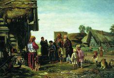 Илларион Прянишников. Калики перехожие. 1870