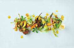 Movement of summer vegetables from chef/owner Edward Lee of 610 Magnolia, Louisville, Kentucky - Fred Minnick