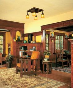 Myths of the Open Floor Plan by Charity Vogel on May 24, 2013 Bungalow An open floor plan, circa 1906. Photo by Rejuvenation Like solitude and quiet, walls and closed doors aren't always bad.
