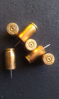 9mm Brass Push Pins by kvlv