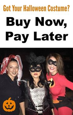 buy halloween costumes now pay later
