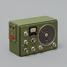 Something about old radios is so cool.