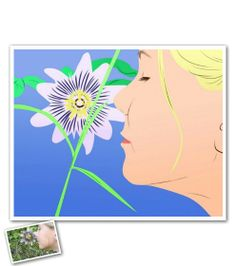 Pop Art Elegant Colors from Photos - Oh how I cannot wait for spring to arrive so we can smell the flowers!!! I'm definitely going to do this with my photos for some spring decor!