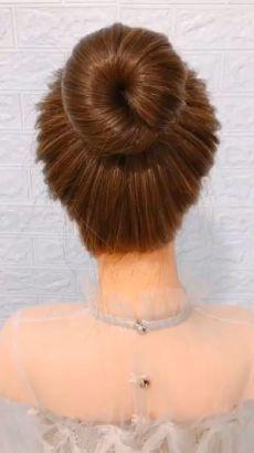 Easy Hairstyles For Long Hair, Cute Hairstyles, Wedding Hairstyles, Long Hair Buns, Step Hairstyle, Beach Hairstyles, Ideas For Short Hair, Easy Hair Buns, Wavy Hair