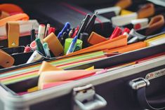 Go back to the classroom with savings by discovering these helpful tips and tricks for finding great discounts on all your school supplies. The post 18 Tips and Tricks for Finding Discounts on School Supplies appeared first on Blippr. Teacher Supplies, School Supplies, Art Supplies, Office Supplies, Bad Driburg, Interview, Operations Management, Inventory Management, First Job