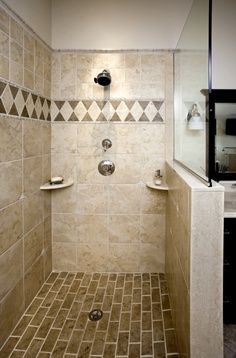 shower pan tile