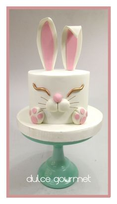 Bunny cake! Happy easter!