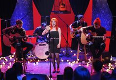 Paramore perform on 'MTV Unplugged. Mtv Unplugged, Hayley Williams, Paramore, Videos, Photo Galleries, Songs, Band, Concert, Percussion