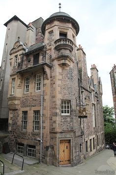 The Writers Museum - Edinburgh, Scotland.