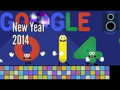 New Year 2014 - Google Doodle #goodoocollect