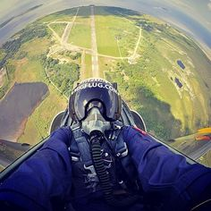 """Flying a jet with zero experience. 