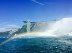 수현 suhyeon kim on Instagram: 무지개떴당 #나이아가라 #niagarafalls #rainbow #캐나다 #여행 #travel