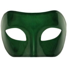Green Venetian Masquerade Mask Mardi Gras Prom Party Accessory... ($4.88) ❤ liked on Polyvore featuring accessories