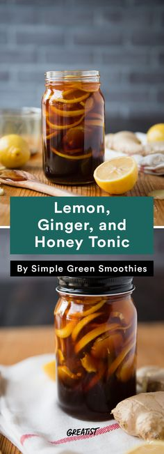 6. Lemon, Ginger, and Honey Tonic #warm #drinks #recipes http://greatist.com/eat/warm-drink-recipes-better-than-a-pumpkin-spice-latte