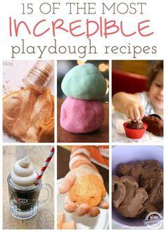 Playdough Recipes!