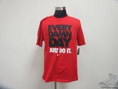 Nike Air Short Sleeve Crewneck t Shirt sz L Large Flight NWT Swoosh EVERYDAY #Nike #BasicTee #tcpkickz