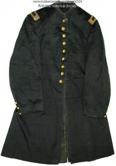 Captain Grenville F. Sparrow coat, ca. 1864. Item # 4269 on Maine Memory Network