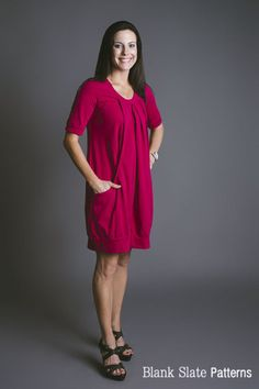 Blank Slate Patterns Pocket Full of Posies Dress http://blankslatepatterns.com/products/pocket-full-of-posies-dress