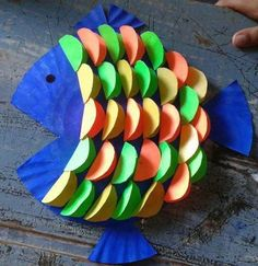 Paper Plate Crafts 808818414314880019 - paper plate fish craft for kids. Special scales version Source by ChantalToc Paper Plate Fish, Paper Plate Crafts, Paper Crafts For Kids, Diy For Kids, Diy And Crafts, Arts And Crafts, Paper Plates, Diy Paper, Fish Plate