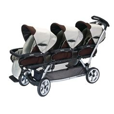 Nate might need a seat too!  This one also accommodates infant car seats