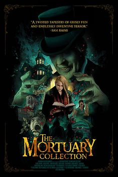 The Mortuary Collection (2019) On the cusp of retirement, an eccentric mortician recounts several of the strangest stories he's encountered in his long career, but things take a turn for the phantasmagorical when he learns that the final story - is his own. Weird Stories, Horror Stories, Horror Films, Scariest Stories, Clancy Brown, Anthology Film, Imdb Tv, The Shawshank Redemption, Dance Movies