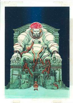 MEMORIES  by Otomo Katsuhiro Comic Art