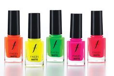 Hello Friends,  Do you like your nails hot, hip and sassy? Razzle dazzle this autumn winter with sizzling bright hues and electric neons. FACES Cosmetics, the globally acclaimed makeup, skincare and lifestyle accessories brand from Canada, is all set to launch 27 new shades of Hi shine Nail Enamel