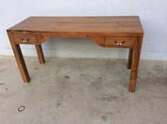 Simple writing table in teak