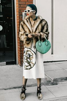 Street style London February 2017