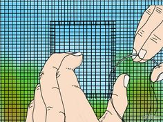 How to Repair a Tear in a Window Screen: 6 Steps (with Pictures)