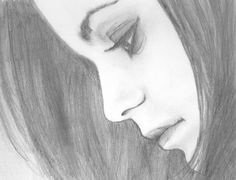 Easy sketches easy sketches to draw, pretty easy drawings, easy things to s Easy Pencil Drawings, Pretty Easy Drawings, Girly Drawings, Cool Art Drawings, Beautiful Drawings, Drawing Faces, Face Drawing Easy, Drawing Art, Pretty Drawings Of Girls