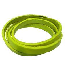 Lemon Leather Bracelet GBR10054