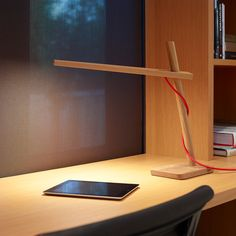 White Oak Clamp Mini LED Lamp | Desk Lamp | Cool Office Furniture