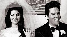 Elvis and Priscilla Presley! :) (It's not really style, but Priscilla was beautiful-so was Elvis-haha. Elvis Presley, Elvis Und Priscilla, Lisa Marie Presley, Priscilla Presley Wedding, Celebrity Couples, Celebrity Weddings, Elvis Wedding, Before Wedding, Famous Couples
