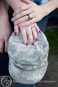 Military couples photography poses