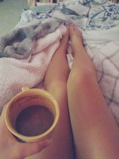 Cozy night and coffee