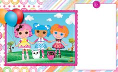 FREE CUSTOMIZABLE INVITATION FOR LALALOOPSY PARTY! glad if you will use it, enjoy!!!!