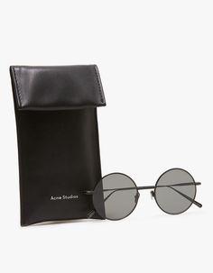 620dc84af09dc Acne Studios   Scientist Sunglasses in Black