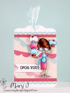Cupcakes for you! by maryj68 - Cards and Paper Crafts at Splitcoaststampers