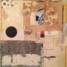 The Daily Muse: An Exclusive Interview with Angela Holland, Mixed Media / Collage Artist - elusivemu. Collages, Collage Artists, Collage Art Mixed Media, Mixed Media Canvas, Magazin Design, Collage Techniques, Photocollage, Mail Art, Illustrations