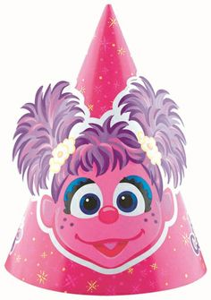 Abby Cadabby Party Hat|Fast Shipping|8 per package