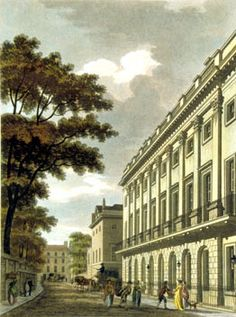 Uxbridge House, Mayfair, in 1801